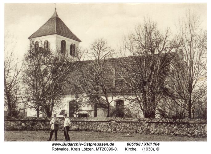 Rotwalde, Kirche
