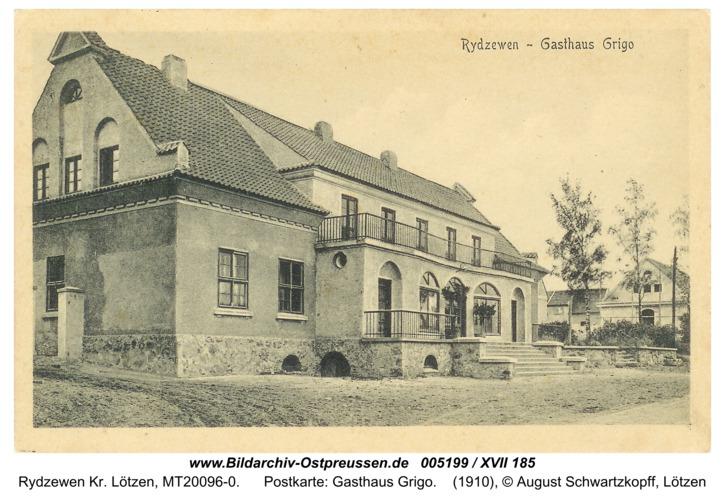 Rotwalde, Postkarte: Gasthaus Grigo