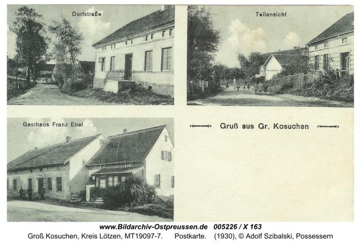Allenbruch, Postkarte