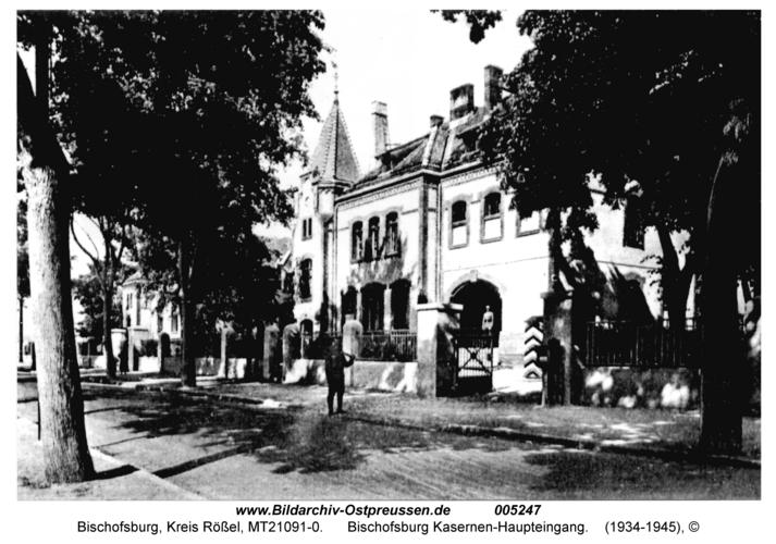 Bischofsburg Kasernen-Haupteingang