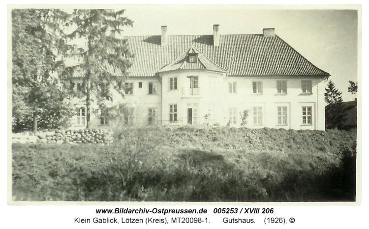 Klein Gablick, Gutshaus