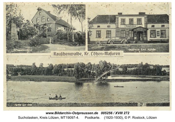Rauschenwalde, Postkarte