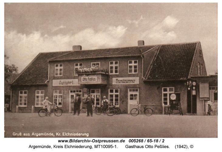 Argemünde, Gasthaus Otto Peßlies
