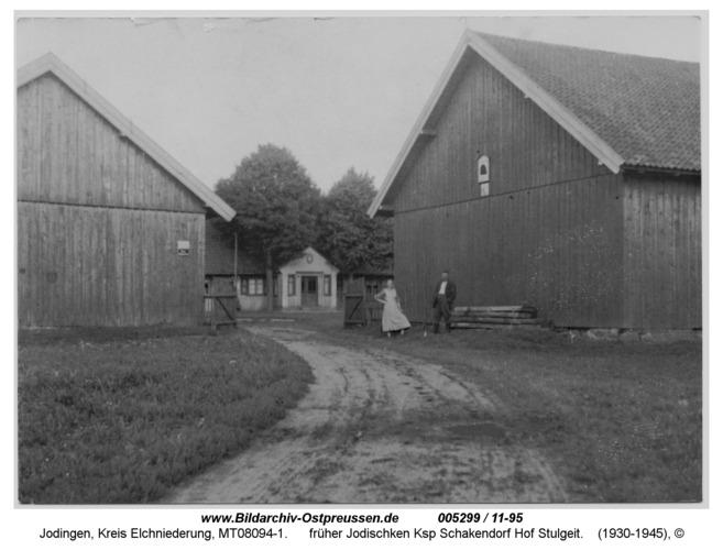 Jodingen, früher Jodischken Ksp Schakendorf Hof Stulgeit