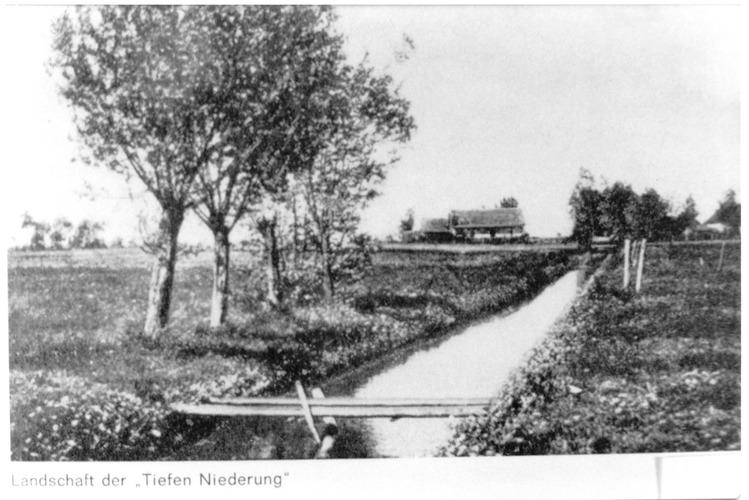 Seckenburg, Landschaft der Tiefen Niederung bei Seckenburg