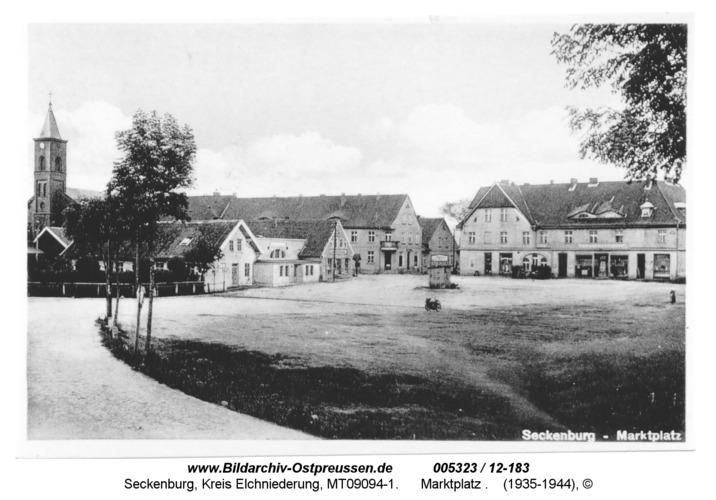 Seckenburg, 17, Marktplatz