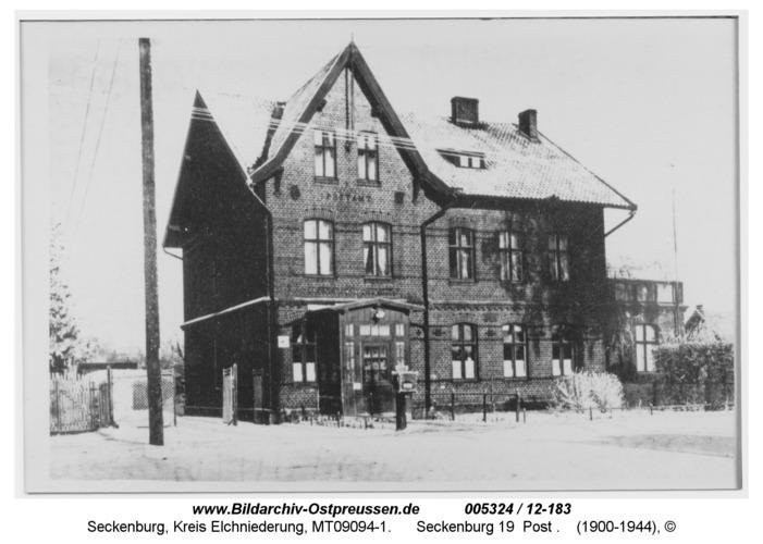 Seckenburg, Postamt