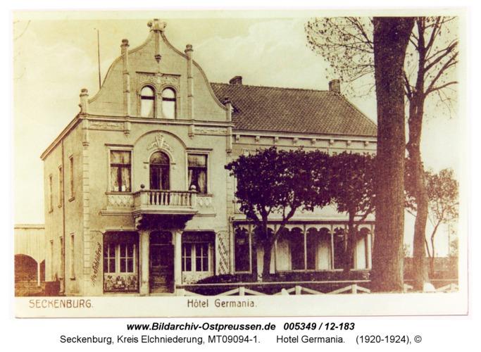Seckenburg, Hotel Germania