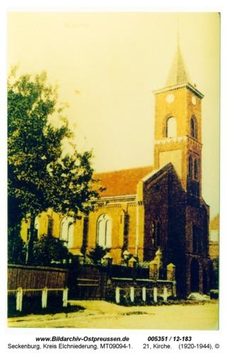 Seckenburg, 21, Kirche