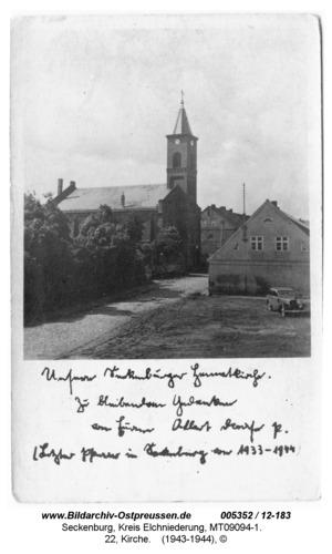 Seckenburg, 22, Kirche
