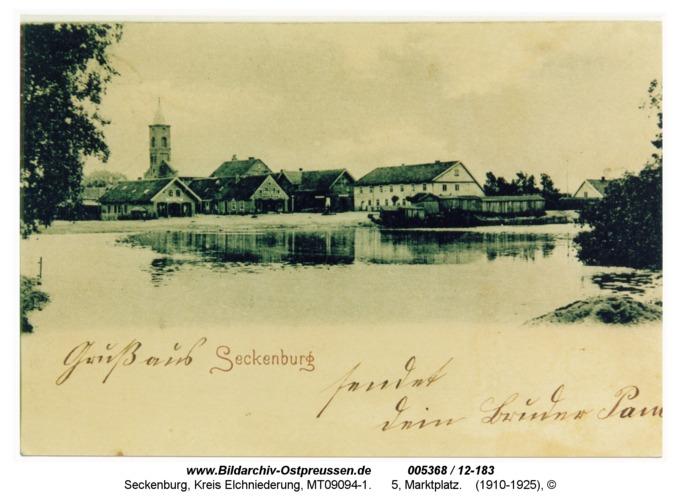 Seckenburg, 5, Marktplatz