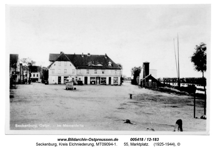Seckenburg, 55, Marktplatz