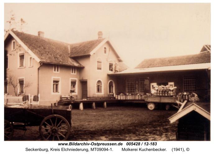 Seckenburg,  Molkerei Kuchenbecker
