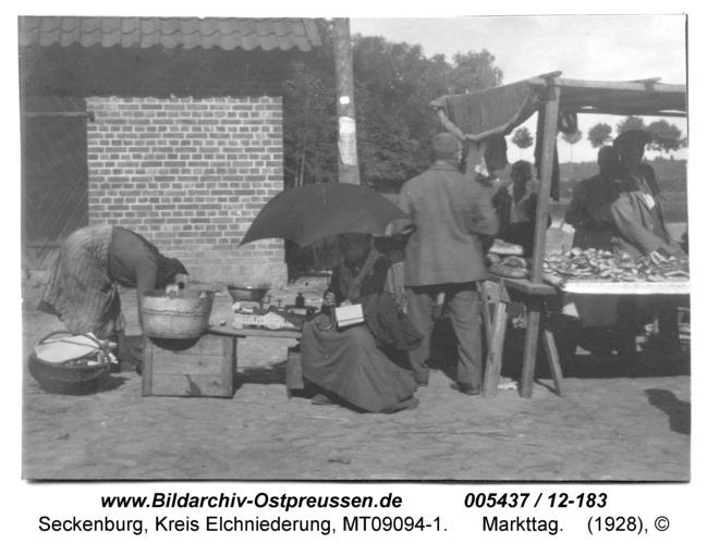 Seckenburg, 133, Markttag