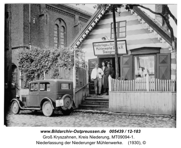 Seckenburg,  Niederlassung der Niederunger Mühlenwerke