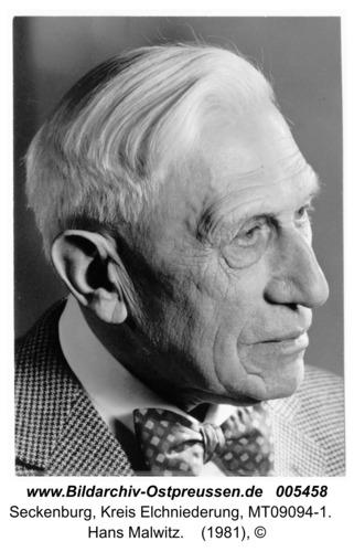 Seckenburg, Hans Malwitz