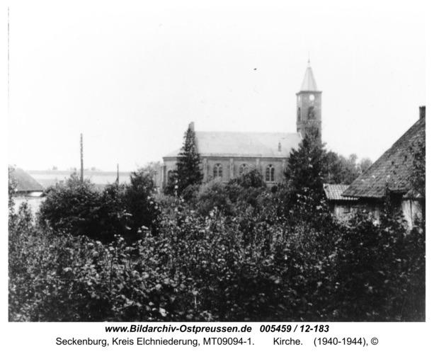 Seckenburg,  Kirche