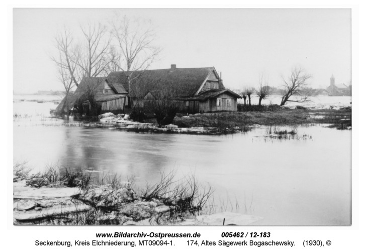 Seckenburg, 174, Altes Sägewerk Bogaschewsky