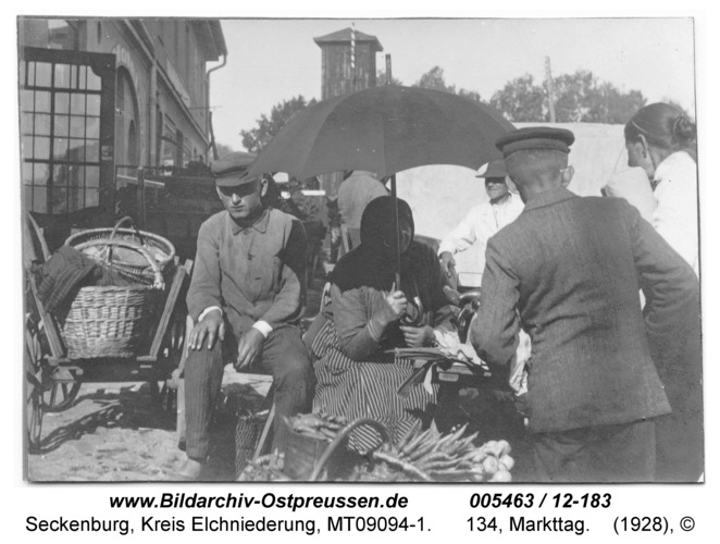 Seckenburg, 134, Markttag