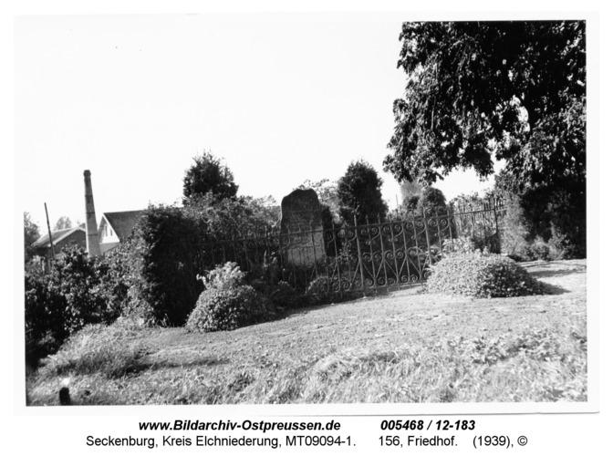 Seckenburg, 156, Friedhof