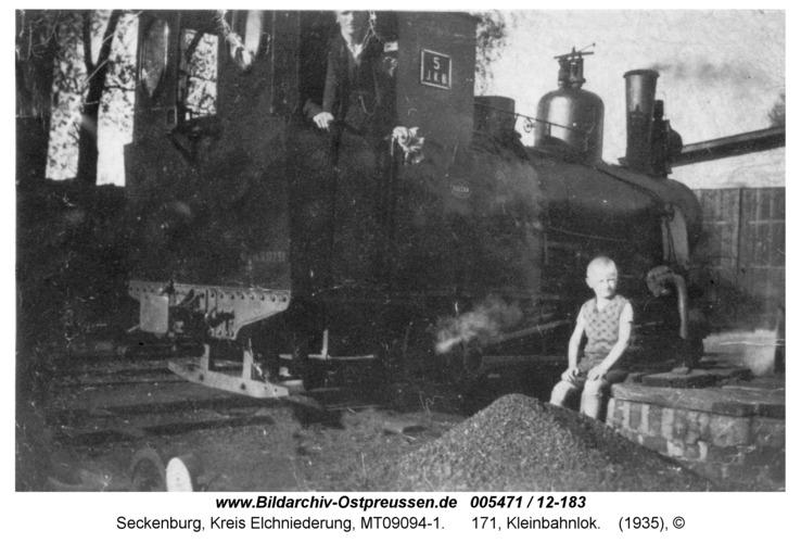 Seckenburg, 171, Kleinbahnlok