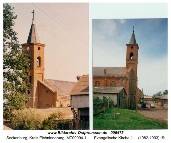 Seckenburg, Evangelische Kirche 1