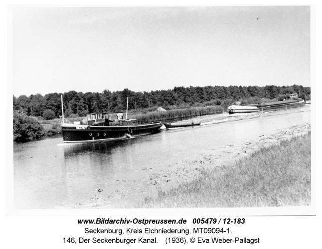 Seckenburg, 146, Der Seckenburger Kanal