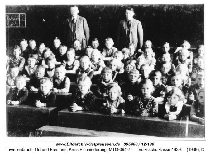 Tawellenbruch, Volksschulklasse 1939