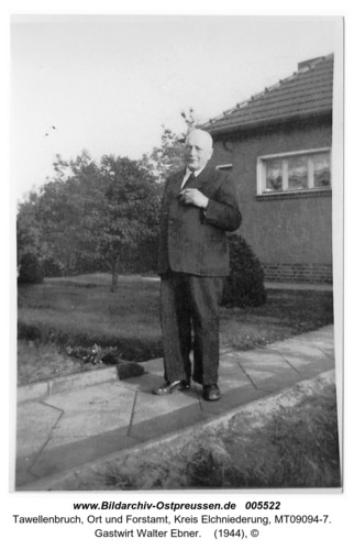 Tawellenbruch, Gastwirt Walter Ebner