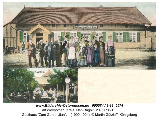 """Weinoten, Gasthaus """"Zum Garde-Ulan"""""""