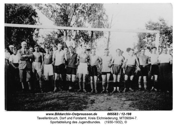 Tawellenbruch, Sportabteilung des Jugendbundes