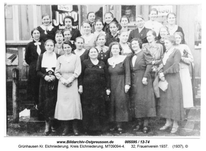 Grünhausen, 32, Frauenverein 1937