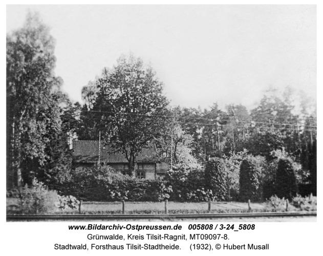 Tilsit, Stadtwald, Forsthaus Tilsit-Stadtheide