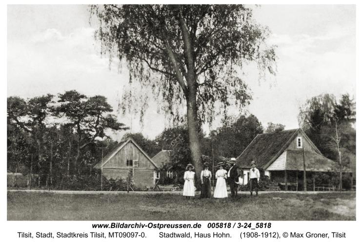 Tilsit, Stadtwald, Haus Hohn