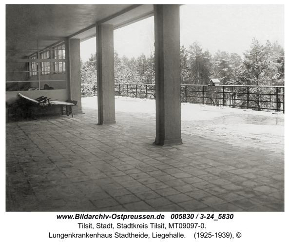Tilsit, Lungenkrankenhaus Stadtheide, Liegehalle