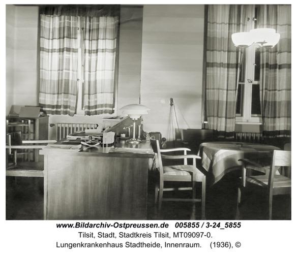 Tilsit, Lungenkrankenhaus Stadtheide, Innenraum