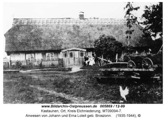 Kastaunen, Anwesen von Johann und Erna Loleit geb. Broszonn