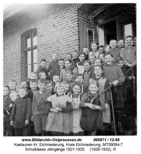 Kastaunen, Schulklasse Jahrgänge 1921-1925