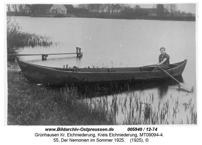 Grünhausen, 55, Der Nemonien im Sommer 1925