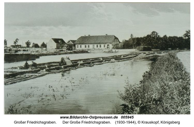 Der Große Friedrichsgraben