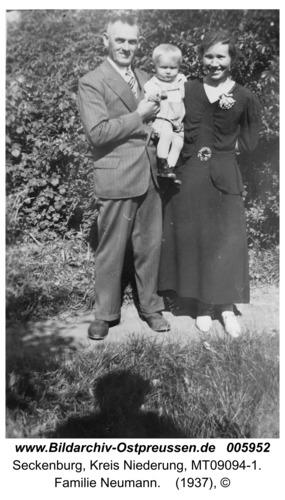 Seckenburg, Familie Neumann