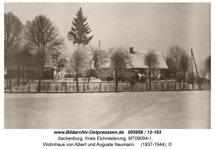 Seckenburg, Wohnhaus von Albert und Auguste Neumann