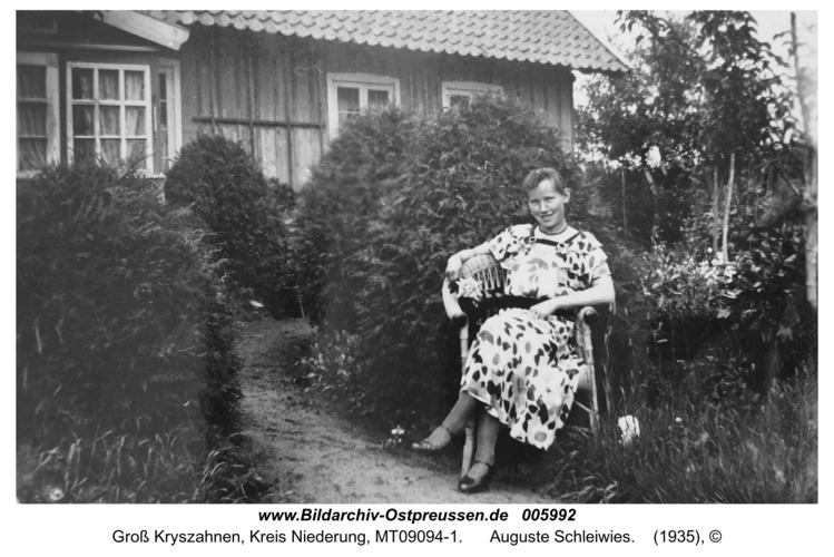 Seckenburg, Auguste Schleiwies
