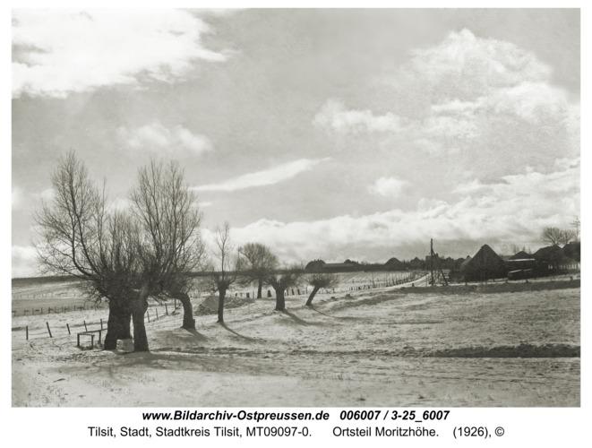 Tilsit, Ortsteil Moritzhöhe