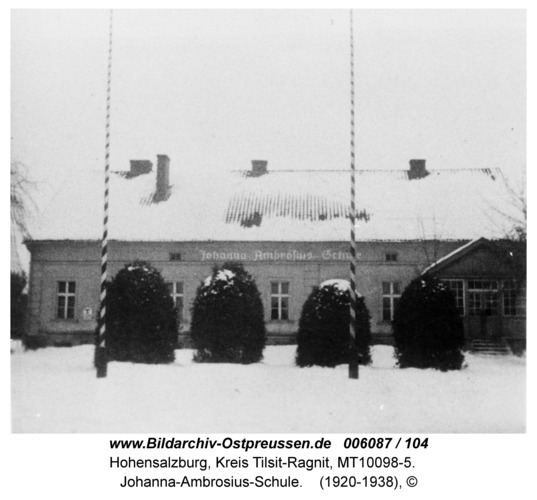 Hohensalzburg, Johanna-Ambrosius-Schule