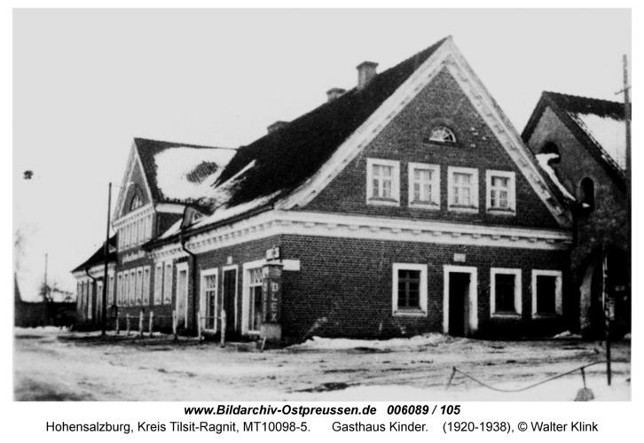Hohensalzburg, Gasthaus Kinder