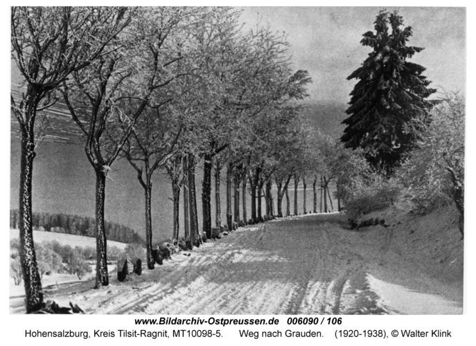 Hohensalzburg, Weg nach Grauden