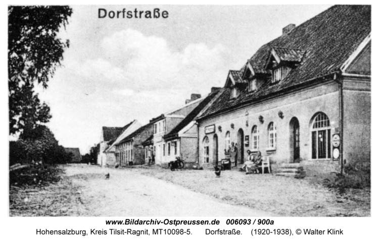 Hohensalzburg, Dorfstraße
