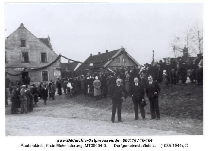 Rauterskirch, Dorfgemeinschaftsfest