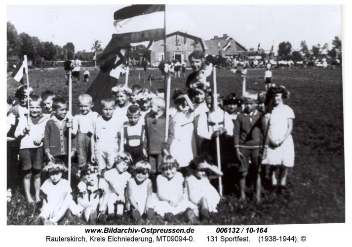 Rauterskirch, 131 Sportfest
